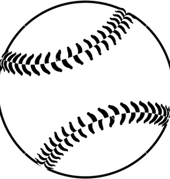 Free image of a baseball isolated in white background vector - Kostenloses vector #233657