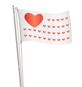 Free flag of love republic vector - vector #233667 gratis