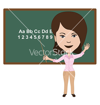 Free teacher vector - vector gratuit #233697