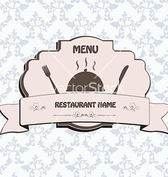 Free restaurant menu label brochure design element with vector - Free vector #233797