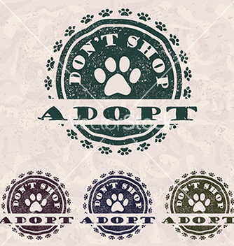 Free adopt dont shop vector - vector #233827 gratis