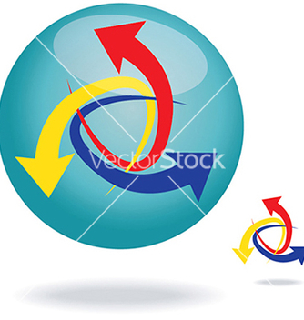 Free arrows element vector - Kostenloses vector #233847