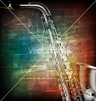 Free abstract music grunge vintage background with vector - Free vector #234007