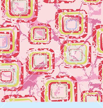 Free abstract pattern with squares on a pink background vector - vector #234597 gratis