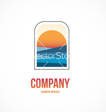 Free sunrise logo vector - бесплатный vector #234927