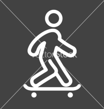 Free skate boarding vector - Free vector #235007