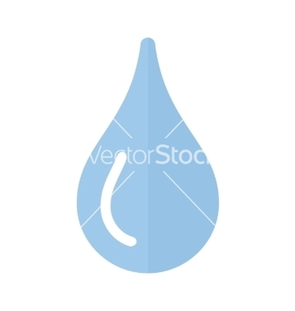 Free water droplet vector - бесплатный vector #235327