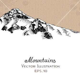 Free snow peak vector - бесплатный vector #235347