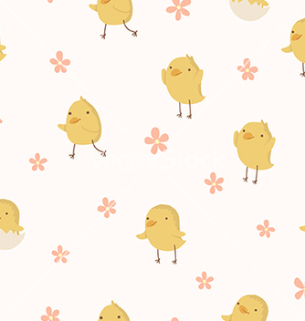 Free easter concept seamless pattern vector - Free vector #235377