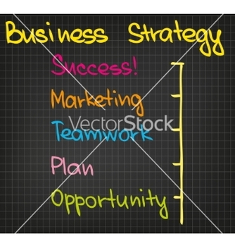 Free business strategy vector - vector gratuit #235517