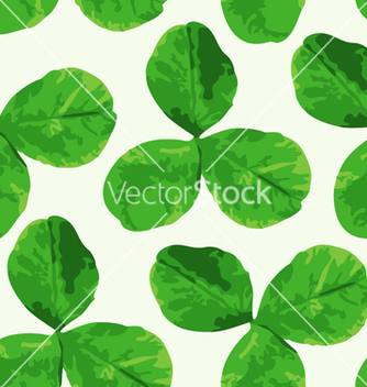 Free clover seamless pattern vector - Free vector #235627