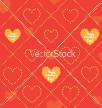 Free happy valentines day seamless pattern vector - vector #235877 gratis