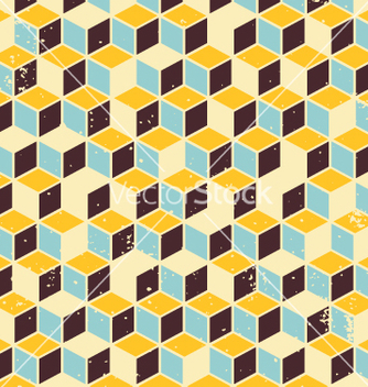 Free abstract geometric retro background vector - Free vector #236007