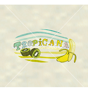Free exotic fruits vector - vector gratuit #236047