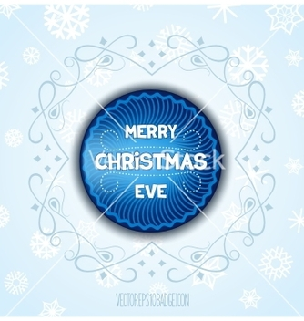 Free christmas label vector - бесплатный vector #236367