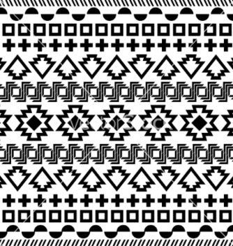 Free seamless aztec pattern vector - Kostenloses vector #236677