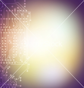 Free microchip background electronic circuit eps10 vector - бесплатный vector #236707