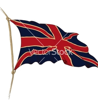 Free flag of great britain vector - Kostenloses vector #236867