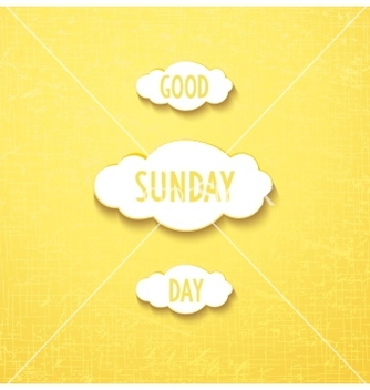 Free good sunday day vector - бесплатный vector #237057
