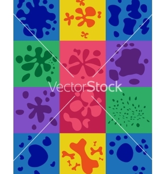 Free set of blots vector - vector #237097 gratis