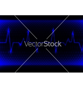 Free colorful human heart normal sinus rhythm vector - бесплатный vector #237307