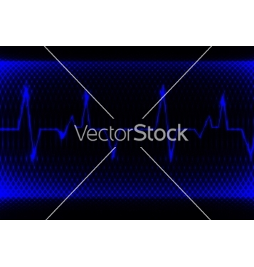 Free colorful human heart normal sinus rhythm vector - Kostenloses vector #237307