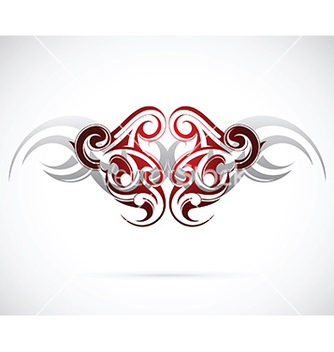 Free ethnic tattoo design vector - Kostenloses vector #237657