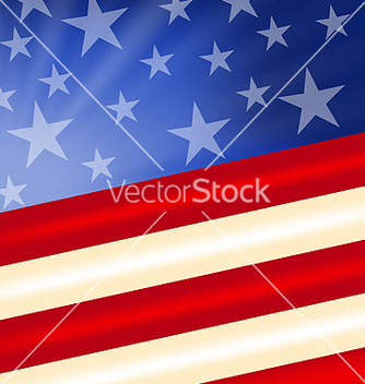 Free abstract american flag for independence day vector - vector #237667 gratis