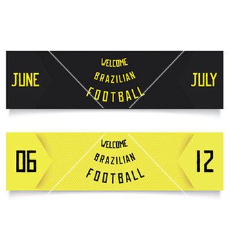 Free two design for football tickets vector - Free vector #237807