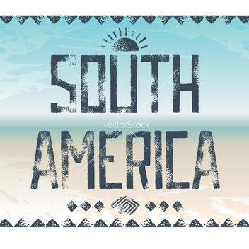 Free south america background vector - vector #237957 gratis