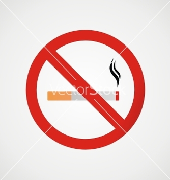 Free no smoking sign vector - Kostenloses vector #238097