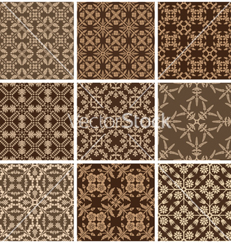 Free seamless print patterns vector - Free vector #238177