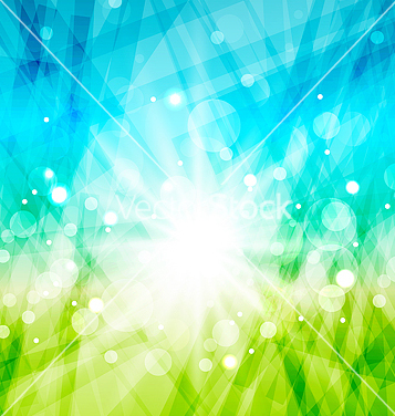 Free modern abstract background with sun rays vector - Free vector #238537