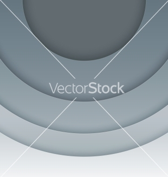 Free abstract grey paper circles background vector - Free vector #238667