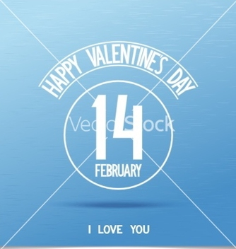 Free beautiful happy valentines day sign vector - vector #238727 gratis