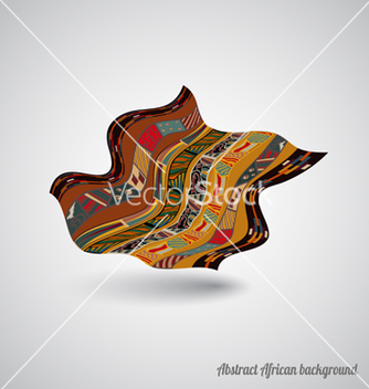 Free abstract african backdrop vector - Free vector #238777