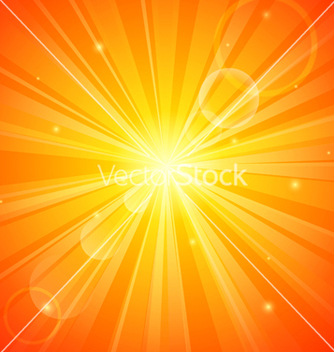 Free abstract orange sunny background vector - бесплатный vector #238887