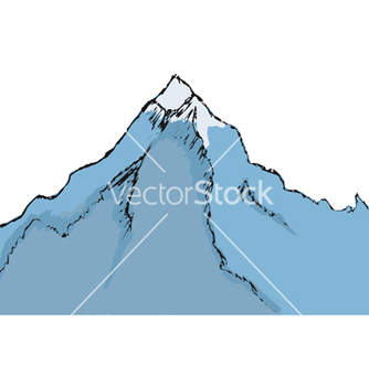 Free mountain vector - Free vector #238907