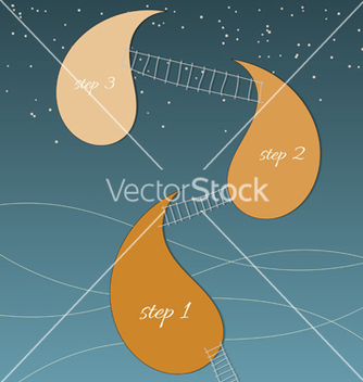 Free background with stairs and design elements vector - vector gratuit #238927