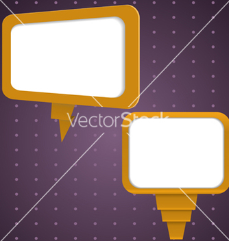 Free set of speech bubbles vector - vector gratuit #238947