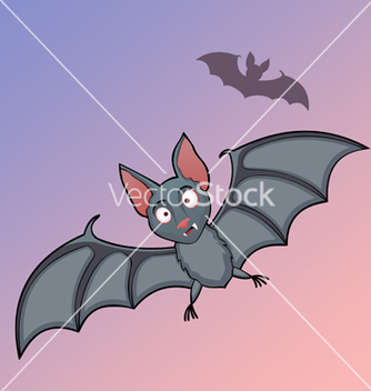 Free bats cartoon in fly vector - Free vector #239377