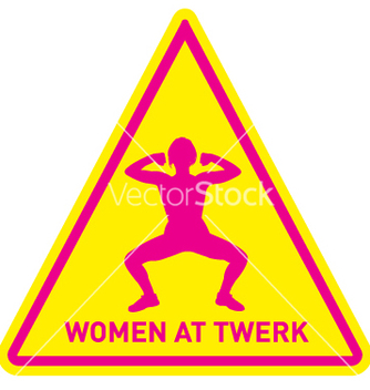 Free women at twerk sign vector - vector gratuit #239537