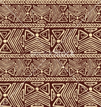 Free abstract tribal pattern vector - Free vector #239557