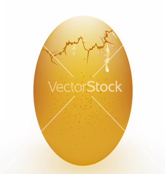 Free broken egg on a white background vector - vector #239677 gratis