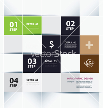 Free business step paper lines and numbers vector - Free vector #239837