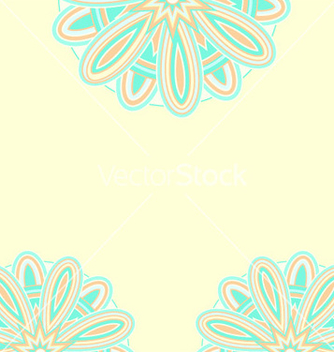 Free summer ethnic card template vector - Free vector #239877