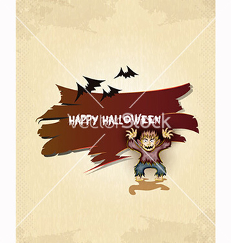 Free halloween background vector - бесплатный vector #239887