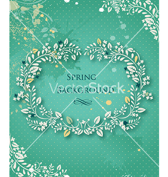 Free floral background vector - Kostenloses vector #240397