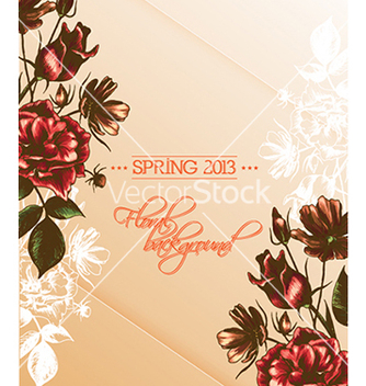 Free floral vector - Free vector #240607