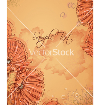 Free floral background vector - Free vector #241437